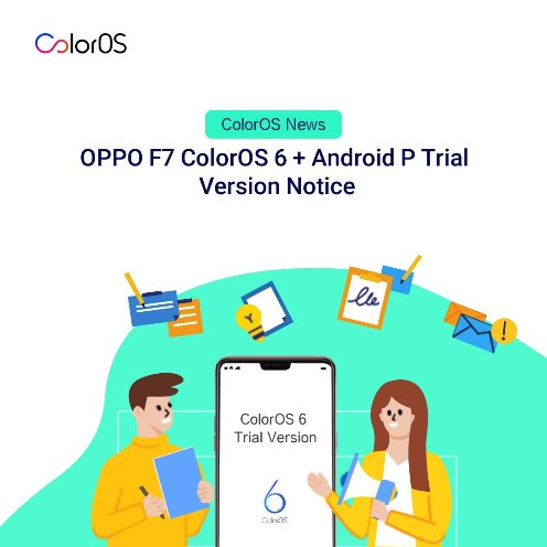 Oppo F7 Update) Oppo F7 ColorOS 6 Android P Beta Version