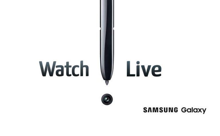Samsung Galaxy Note 10 event watch live online