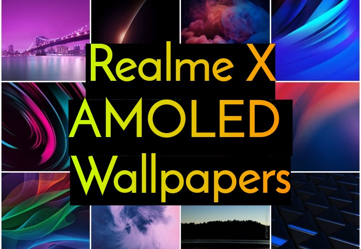 AMOLED Wallpapers for Realme X