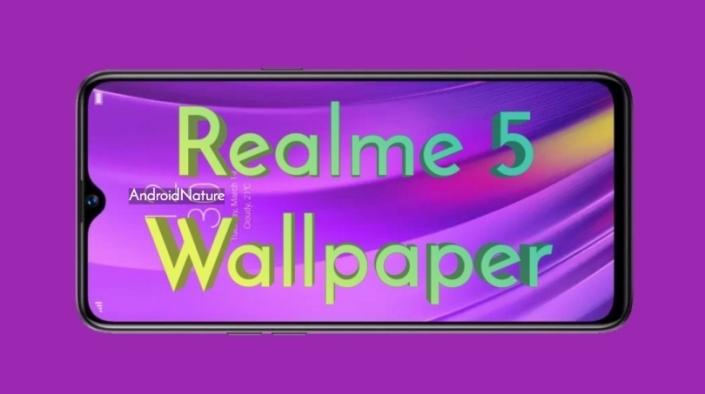download Realme 5 stock wallpaper