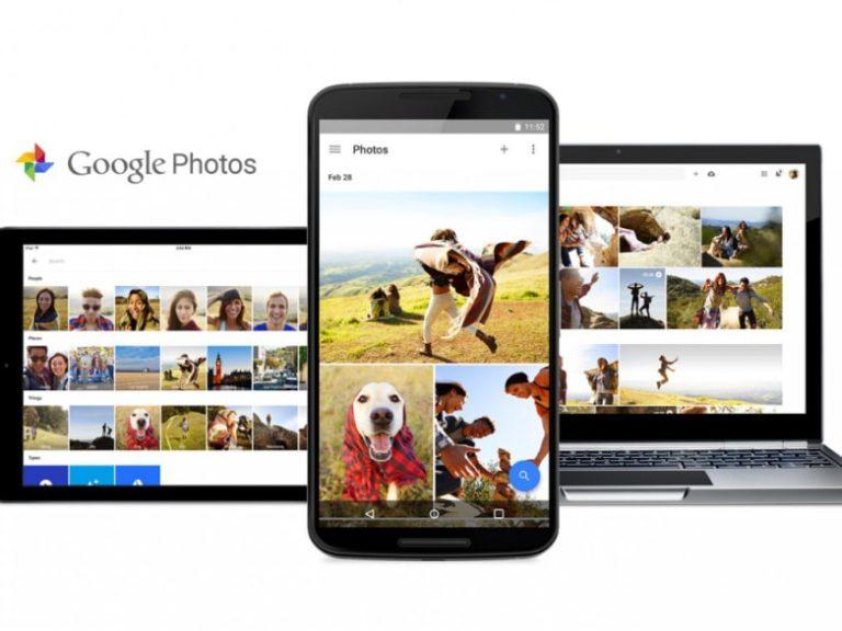 Photos appear dark when viewed in the Google photos app