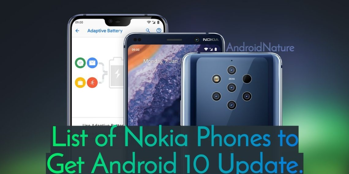List of Nokia Phones to get Android 10 Update along with