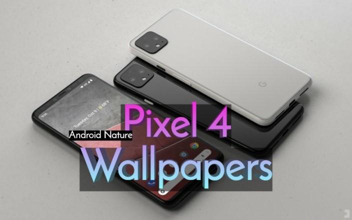 Google Pixel 4 stock wallpapers