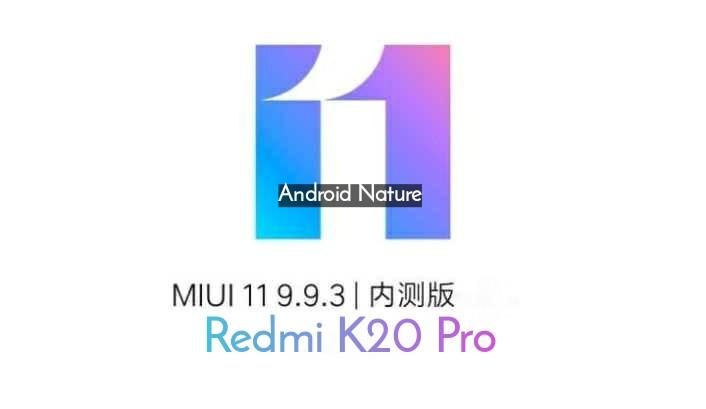 Xiaomi Redmi K20 Pro MIUI 11 update