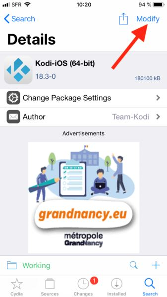download Kodi for iOS 13