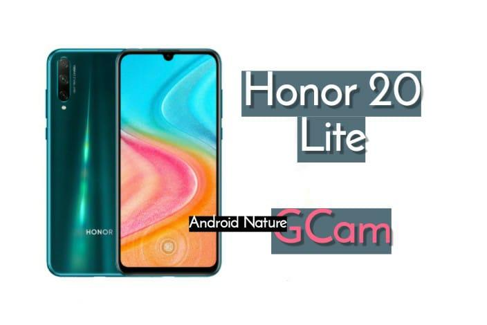 Honor 20 Lite Gcam