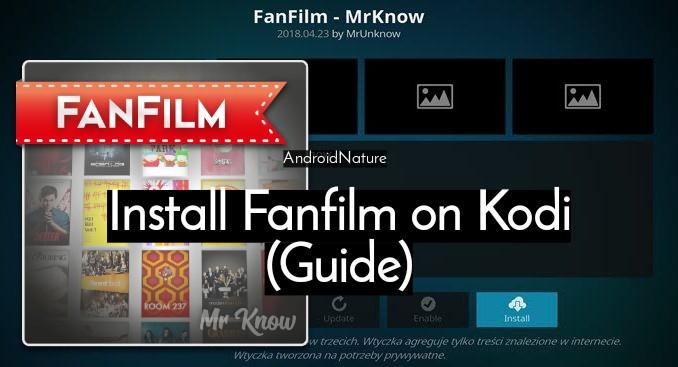 Install FanFilm Kodi Repo