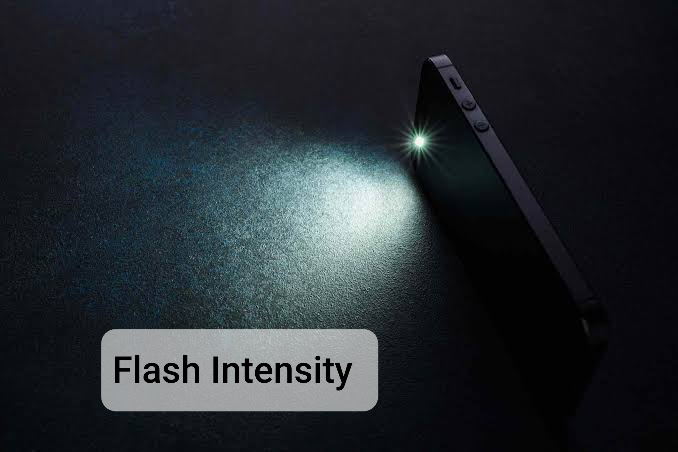 Flash Intensity