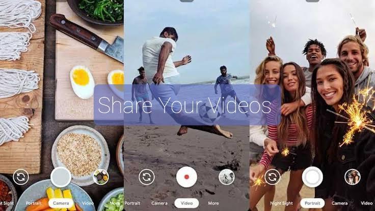 Video Sharing Gcam