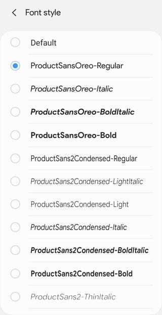 install custom fonts on Samsung phones