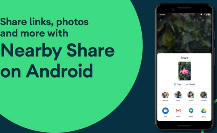 Nearby Share on Android devices