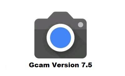 Gcam Version 7.5