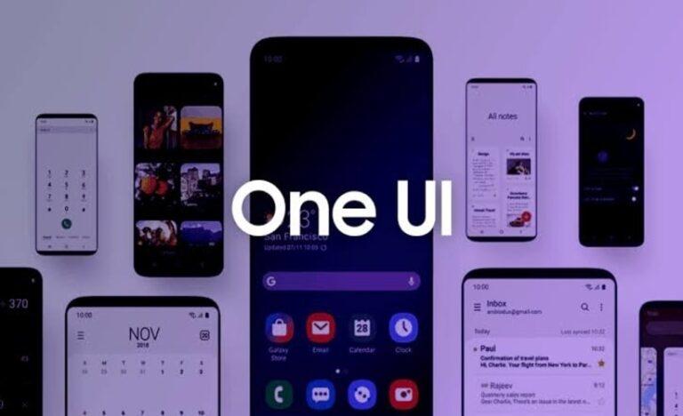 One UI