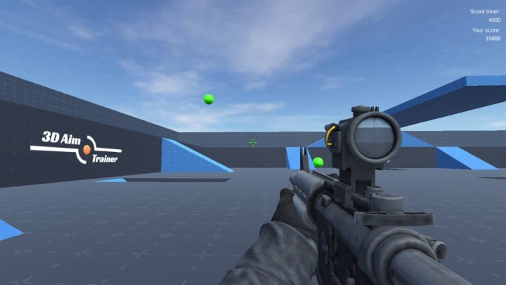 3D Aim Trainer for PC Download