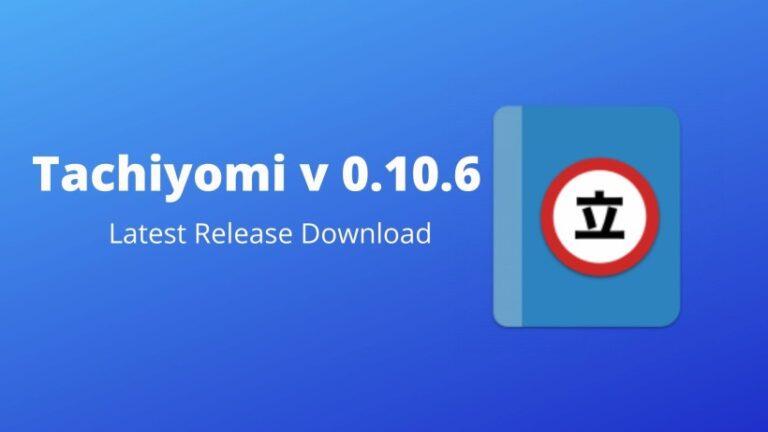 Tachiyomi v 0.10.6 download