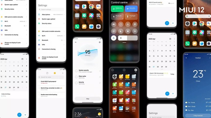 MIUI 12.5 features and eligible devices