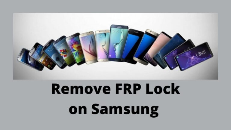 FRP Lock remove on Samsung