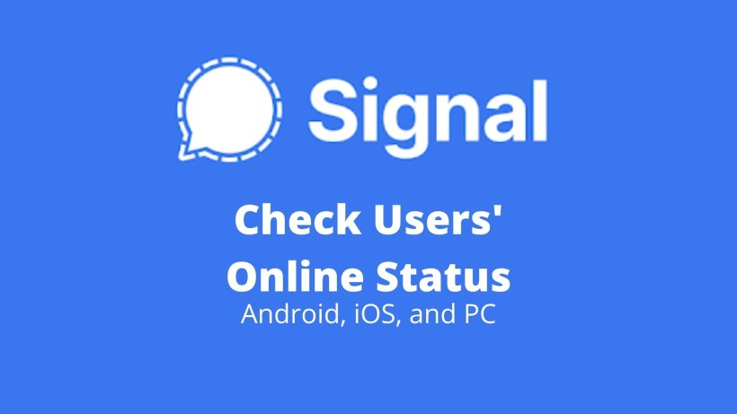 How to check if user is Online in Signal