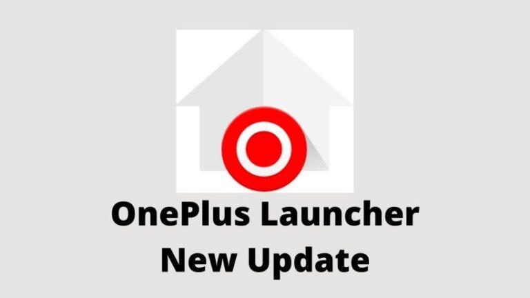 OnePlus Launcher New Update