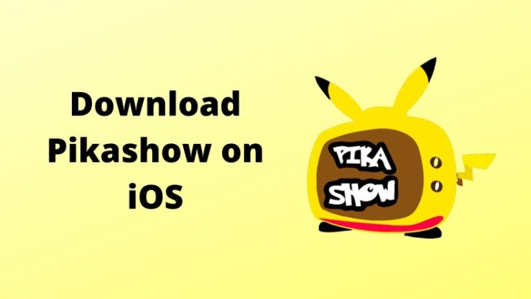 Pikashow for iOS download