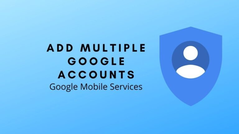 additional Google account after GMS is installed