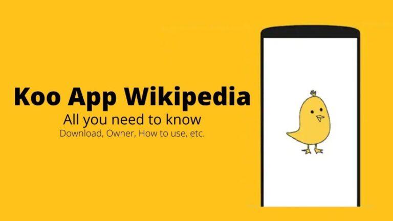 Koo App Wikipedia