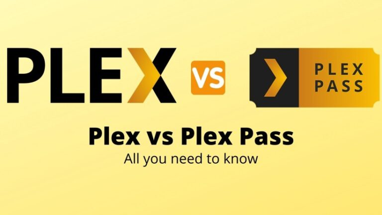 Plex vs Plex Pass