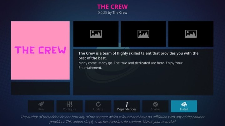fix The Crew not loading streams