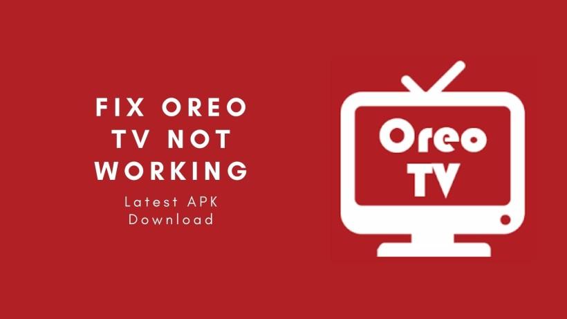 fix Oreo tv not working