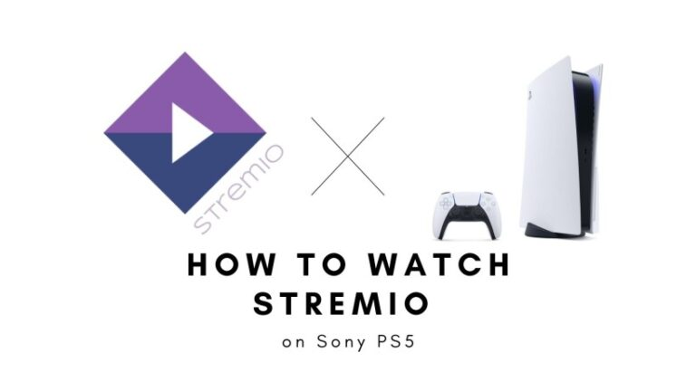 How to watch stremio on PS5