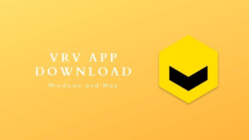 VRV for Windows and Mac