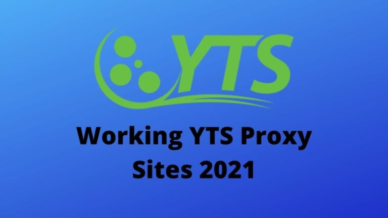 Working YTS Proxy Sites 2021