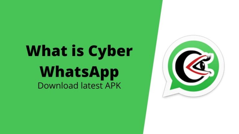 download Cyber WhatsApp APK latest version